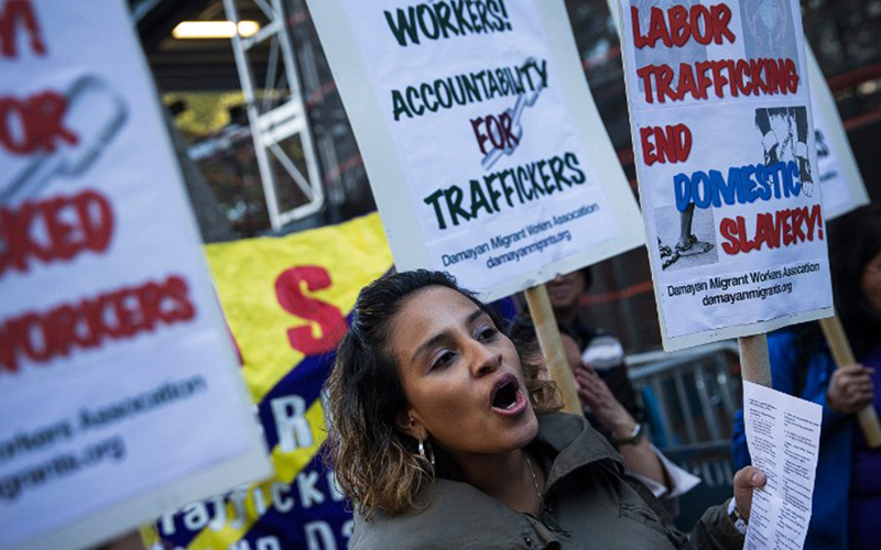Modern-day slaves are suing the traffickers